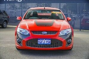 2009 Ford Performance Vehicles Super Pursuit FG Red 6 Speed Sports Automatic Utility Maddington Gosnells Area Preview