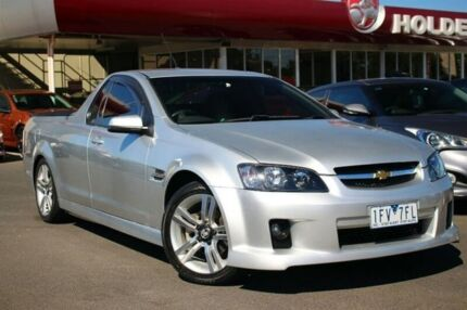2008 Holden Ute VE SV6 Silver 5 Speed Sports Automatic Utility