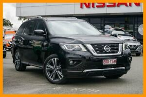 2017 Nissan Pathfinder R52 Series II MY17 Ti X-tronic 2WD Black 1 Speed Constant Variable Wagon Beaudesert Ipswich South Preview