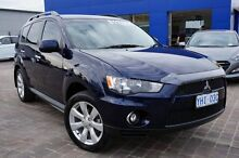 2010 Mitsubishi Outlander ZH MY10 VR Blue 6 Speed Sports Automatic Wagon Pearce Woden Valley Preview
