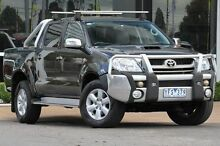 2011 Toyota Hilux KUN26R MY10 SR5 Black 4 Speed Automatic Utility Ferntree Gully Knox Area Preview