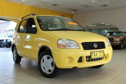 2002 Suzuki Ignis RG413 GL Yellow 4 Speed Automatic Hatchback Jamisontown Penrith Area Preview