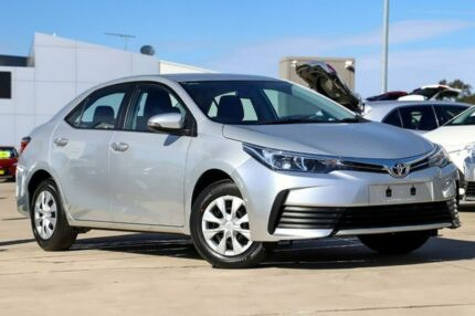 2018 Toyota Corolla ZRE172R Ascent S-CVT Silver 7 Speed Constant Variable Sedan Blacktown Blacktown Area Preview