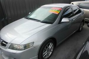 2005 Honda Accord MY05 Upgrade Euro Luxury Silver 5 Speed Sequential Auto Sedan Mitchell Gungahlin Area Preview