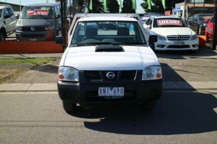 2010 Nissan Navara D22 MY08 DX (4x2) White 5 Speed Manual Cab Chassis Brooklyn Brimbank Area Preview