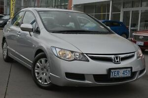 2006 Honda Civic 8th Gen VTi Alabaster Silver 5 Speed Manual Sedan Pearce Woden Valley Preview