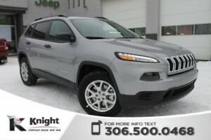 2018 Jeep Cherokee Sport 4x4 | Heated Seats and Steering Wheel |