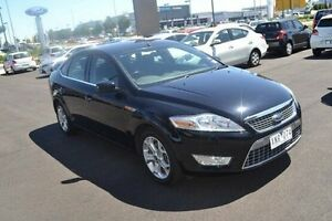 2009 Ford Mondeo MB Zetec Black 6 Speed Sports Automatic Hatchback Strathmore Heights Moonee Valley Preview