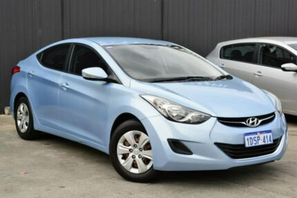 2011 Hyundai Elantra MD Active Blue 6 Speed Sports Automatic Sedan Midvale Mundaring Area Preview