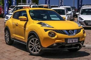 2015 Nissan Juke F15 Series 2 Ti-S X-tronic AWD Yellow 1 Speed Constant Variable Hatchback Embleton Bayswater Area Preview