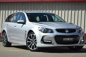 2016 Holden Commodore VF II SS-V Silver 6 Speed Automatic Sportswagon Homebush Strathfield Area Preview