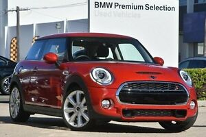 2016 Mini Hatch F56 Cooper S Red 6 Speed Manual Hatchback Victoria Park Victoria Park Area Preview
