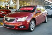 2013 Holden Cruze JH Series II MY14 CDX Sportwagon Red 6 Speed Sports Automatic Wagon North Brighton Holdfast Bay Preview