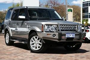 2012 Land Rover Discovery 4 Series 4 MY12 TdV6 CommandShift Beige 6 Speed Sports Automatic Wagon Osborne Park Stirling Area Preview