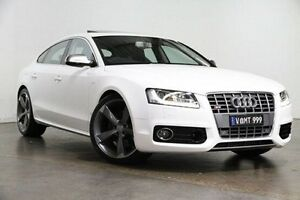 2011 Audi S5 8T MY11 Sportback S tronic quattro White 7 Speed Sports Automatic Dual Clutch Hatchback South Melbourne Port Phillip Preview