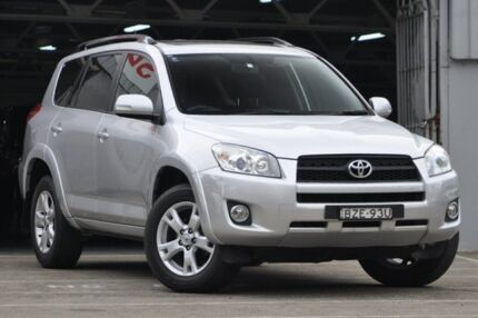 2011 Toyota RAV4 ACA33R 08 Upgrade Cruiser L (4x4) Silver 4 Speed Automatic Wagon Mosman Mosman Area Preview