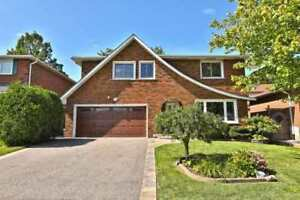 Detached House for Rent in Mississauga!!!