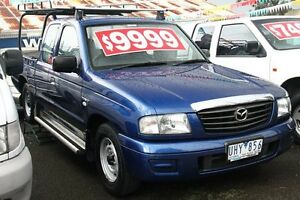 2006 Mazda B2500 MY05 Upgrade Bravo DX Blue Metallic 5 Speed Manual Briar Hill Banyule Area Preview