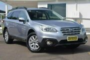 2016 Subaru Outback B6A MY17 2.0D CVT AWD Silver 7 Speed Constant Variable Wagon Gosford Gosford Area Preview