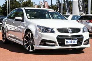 2014 Holden Commodore VF MY14 SS V White 6 Speed Sports Automatic Sedan East Rockingham Rockingham Area Preview