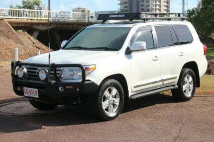 2014 Toyota Landcruiser VDJ200R MY13 Sahara Crystal Pearl 6 Speed Sports Automatic Wagon The Gardens Darwin City Preview
