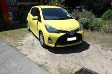 2015 Toyota Yaris  Yellow Automatic Hatchback Croydon Maroondah Area Preview