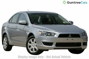2012 Mitsubishi Lancer CJ MY13 ES Silver 6 Speed Constant Variable Sedan
