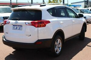 2013 Toyota RAV4 ASA44R GXL AWD White 6 Speed Sports Automatic Wagon Westminster Stirling Area Preview