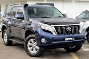 2013 Toyota Landcruiser Prado KDJ150R MY14 GXL Blue 5 Speed Sports Automatic Wagon Gosford Gosford Area Preview