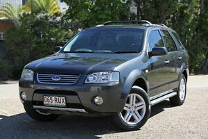 2006 Ford Territory SY Ghia Grey 4 Speed Sports Automatic Wagon Underwood Logan Area Preview