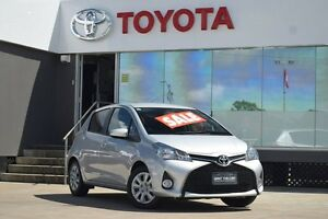 2016 Toyota Yaris NCP131R MY15 SX Silver 4 Speed Automatic Hatchback Old Guildford Fairfield Area Preview