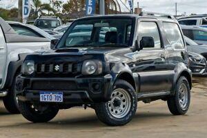 2013 Suzuki Jimny SN413 T6 Sierra Bluish Black 4 Speed Automatic Hardtop Mandurah Mandurah Area Preview