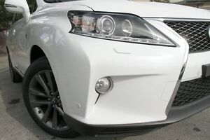 2013 Lexus RX350 GGL15R MY12 F-Sport White 6 Speed Automatic Wagon Petersham Marrickville Area Preview