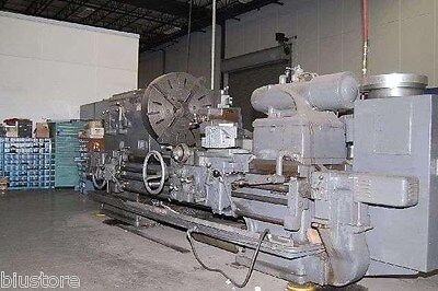 40 Swing X 48 Center Monarch Engine Lathe Metal Turning Machine 25hp Tracer