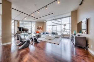 2,400 Sqft – 3 Bed/3 Bath – Toy Factory Lofts in Liberty Village