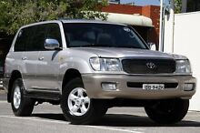 2001 Toyota Landcruiser HDJ100R GXV Silver 4 Speed Automatic Wagon Adelaide CBD Adelaide City Preview