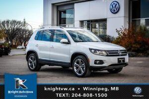 2017 Volkswagen Tiguan Highline AWD w/ Memory Seats/Backup Cam/L