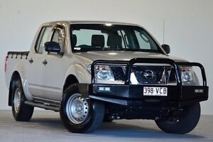 2011 Nissan Navara D40 MY11 RX (4x4) Silver 6 Speed Manual Dual Cab Pick-up Coopers Plains Brisbane South West Preview