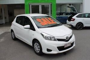 2013 Toyota Yaris NCP130R YR White 4 Speed Automatic Hatchback Mount Gravatt Brisbane South East Preview