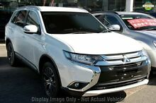 2016 Mitsubishi Outlander ZK MY16 LS (4x2) White Continuous Variable Wagon Wilson Canning Area Preview