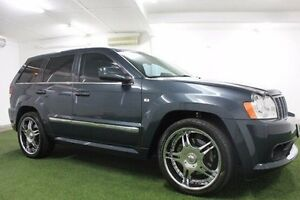 2006 Jeep Grand Cherokee WH MY2006 SRT-8 Grey 5 Speed Automatic Wagon Moonah Glenorchy Area Preview