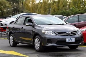 2011 Toyota Corolla ZRE152R MY11 Ascent Grey 6 Speed Manual Sedan Ringwood East Maroondah Area Preview