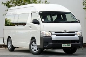 2014 Toyota Hiace TRH223R MY14 Commuter High Roof Super LWB White 5 Speed Manual Bus Robina Gold Coast South Preview