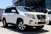 2014 Toyota Landcruiser Prado KDJ150R MY14 GXL White 5 Speed Sports Automatic Wagon Liverpool Liverpool Area Preview