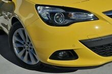 2015 Holden Astra PJ MY15.5 GTC Yellow 6 Speed Automatic Hatchback Pennant Hills Hornsby Area Preview