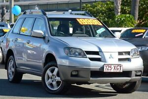 2003 Mitsubishi Outlander ZE XLS Silver 4 Speed Sports Automatic Wagon Kedron Brisbane North East Preview
