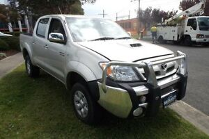 2006 Toyota Hilux KUN26R SR5 (4x4) Silver 5 Speed Manual Extracab Melbourne CBD Melbourne City Preview