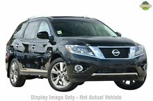 2015 Nissan Pathfinder R52 MY15 Ti X-tronic 4WD Diamond Black 1 Speed Constant Variable Wagon Greenacre Bankstown Area Preview