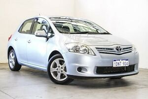 2010 Toyota Corolla ZRE152R MY11 Conquest Blue 6 Speed Manual Hatchback Osborne Park Stirling Area Preview