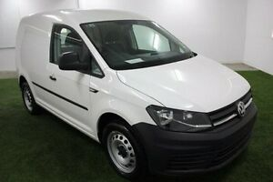 2016 Volkswagen Caddy 2KN MY17 TSI220 SWB DSG White 7 Speed Sports Automatic Dual Clutch Van Invermay Launceston Area Preview